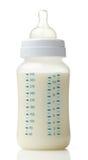 Botella de leche del bebé fotos de archivo