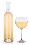Botella de lujo del champán Fotografía de archivo libre de regalías
