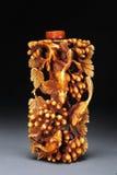 Botella de marfil del rapé Fotografía de archivo libre de regalías