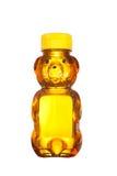 Botella de miel Foto de archivo libre de regalías