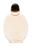 Botella de perfume aislada Foto de archivo libre de regalías