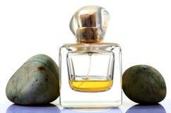 Botella de perfume vacía Imagen de archivo libre de regalías