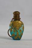 Botella de perfume victoriana 1890 Imagen de archivo
