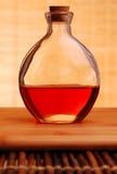 Botella de petróleo Fotografía de archivo libre de regalías