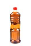 Botella de petróleo de mostaza Fotografía de archivo libre de regalías