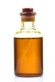 Botella de petróleo de mostaza Foto de archivo libre de regalías