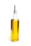 Botella de petróleo del canola fotografía de archivo libre de regalías
