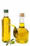 Botella de petróleo y de petróleo Fotos de archivo
