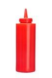 Botella de salsa de tomate imagen de archivo