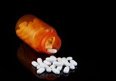 Botella de Vicodin Imagenes de archivo