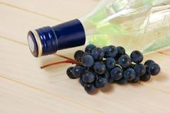 Botella de vino imagen de archivo