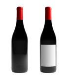 Botella de vino de Borgoña stock de ilustración