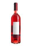 Botella de vino rosado Foto de archivo libre de regalías