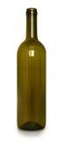 Botella de vino vacía Imágenes de archivo libres de regalías