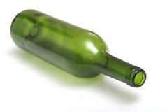 Botella de vino vacía Fotografía de archivo libre de regalías