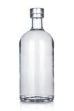 Botella de vodka rusa Fotografía de archivo libre de regalías