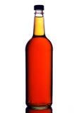 Botella de whisky escocés Fotos de archivo