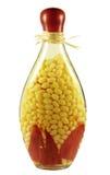 Botella decorativa Foto de archivo libre de regalías