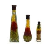 Botella decorativa Imagen de archivo libre de regalías