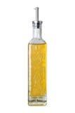 Botella del aceite de oliva Foto de archivo