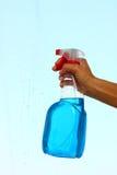 Botella del aerosol Fotos de archivo libres de regalías