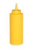 Botella del apretón de mostaza Imagen de archivo