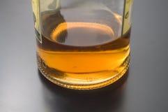 Botella del asno de ron imagen de archivo libre de regalías
