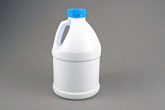 Botella del blanqueo Fotografía de archivo