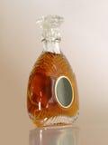 Botella del brandy de Xo Fotos de archivo libres de regalías