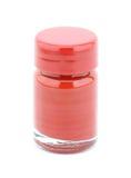 Botella del color rojo Fotos de archivo libres de regalías
