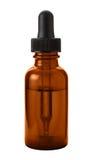 Botella del dropper de ojo de Brown Imagen de archivo libre de regalías