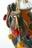 Botella del flamenco Imágenes de archivo libres de regalías