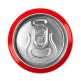 Botella del metal de la bebida fotografía de archivo libre de regalías