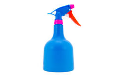 Botella del plástico del limpiador de la pistola del espray Imagenes de archivo