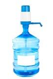 Botella grande de agua potable limpia. fotografía de archivo libre de regalías