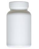 Botella llana clippathed imagenes de archivo