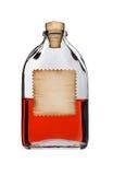 Botella pasada de moda de la droga. Imágenes de archivo libres de regalías
