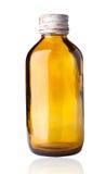Botella pasada de moda de la droga. Imagenes de archivo