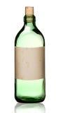 Botella pasada de moda de la droga, aislada. Fotos de archivo