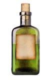 Botella pasada de moda de la medicina. Foto de archivo libre de regalías