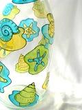 Botella pintada foto de archivo libre de regalías