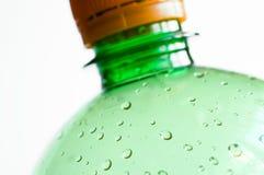 Botella plástica Fotos de archivo libres de regalías