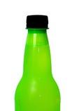 Botella plástica Foto de archivo