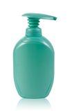 Botella plástica Foto de archivo libre de regalías