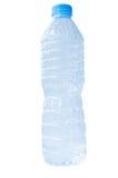 Botella plástica de agua Foto de archivo