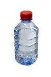 Botella plástica de agua potable Foto de archivo libre de regalías