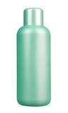 Botella plástica en blanco imagen de archivo