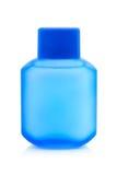 Botella plástica para la loción Imagen de archivo libre de regalías