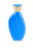 Botella plástica para la loción Foto de archivo