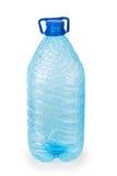 Botella plástica vacía Fotos de archivo libres de regalías